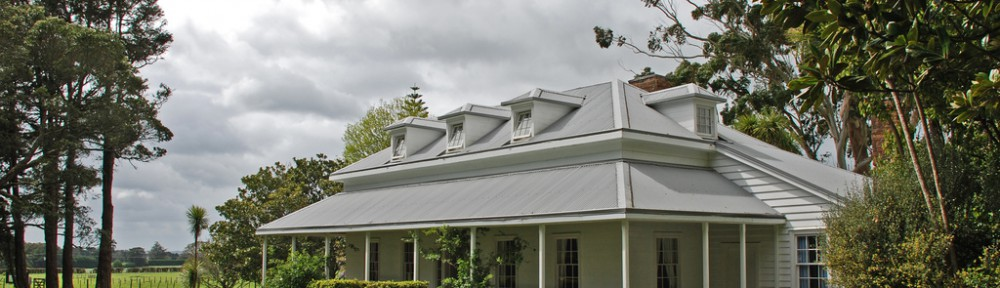 Mission House (1835), Waimate North, Northland, New Zealand, October 2007