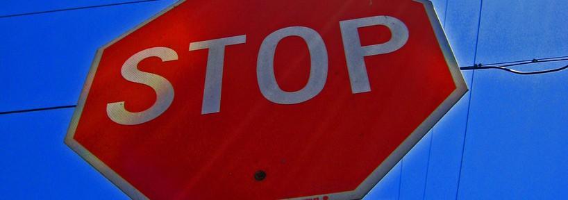 War-Free Stop Sign